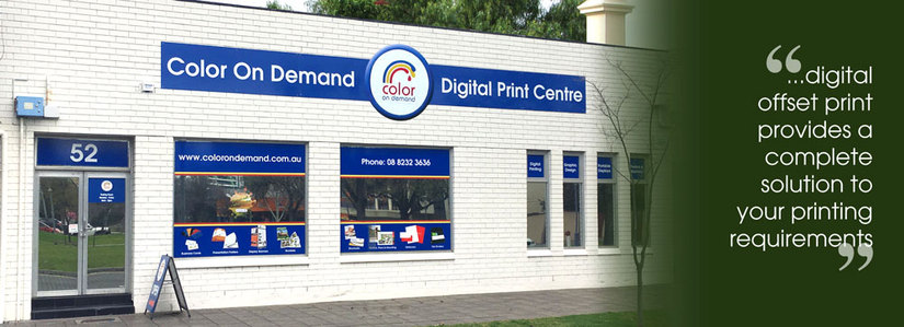 Color on Demand premises on Hurtle Square Adelaide