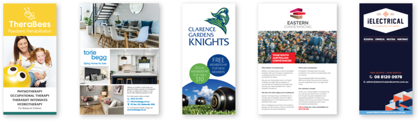 Have Color on Demand  design and print your flyers