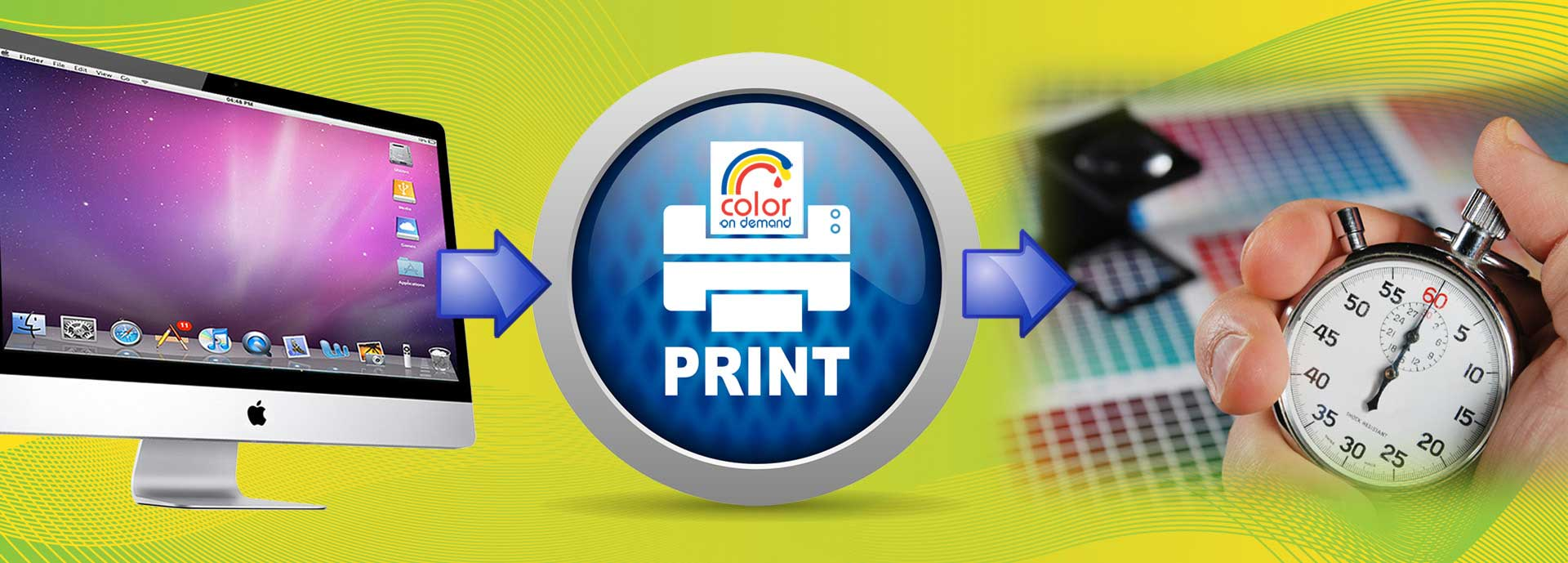 At Color on Demand Adelaide  print possibilities are endless!