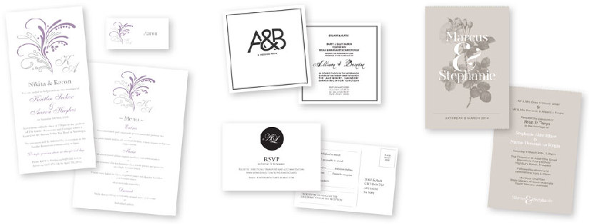 Wedding invitations  - Color On Demand