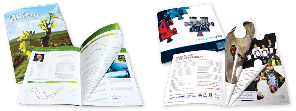 Reports produced by colour digital printing at Color on Demand always look so professional.